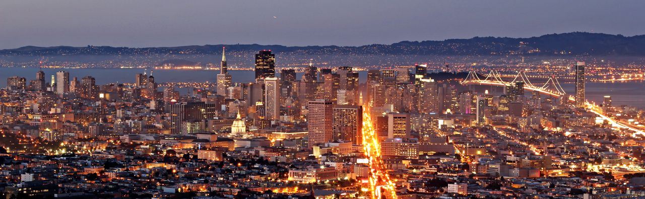An evening in San Francisco (source, Wikipedia)