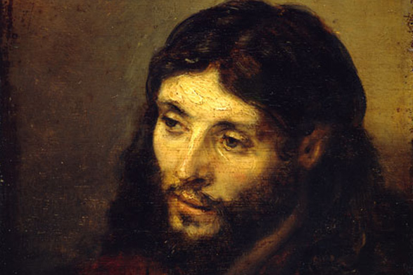 The Face of Jesus, by Rembrandt
