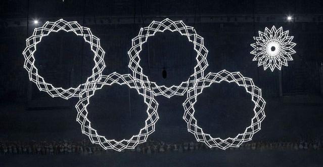Sochi Olympic Symbol Ceremony