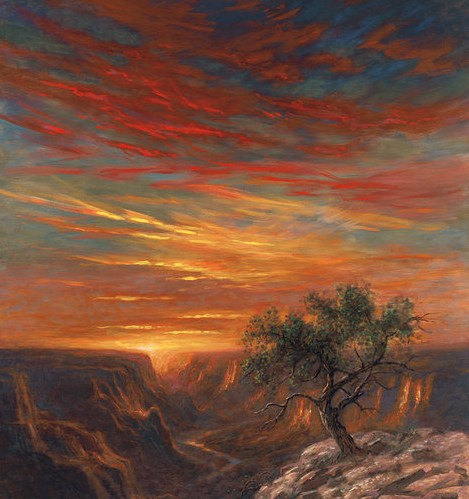 Grand Canyon Red Sky