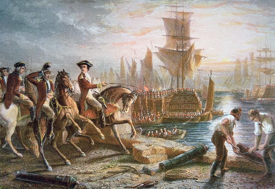 The British Evacuate Boston