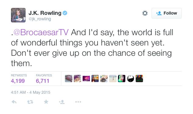 JK Rowling Reply
