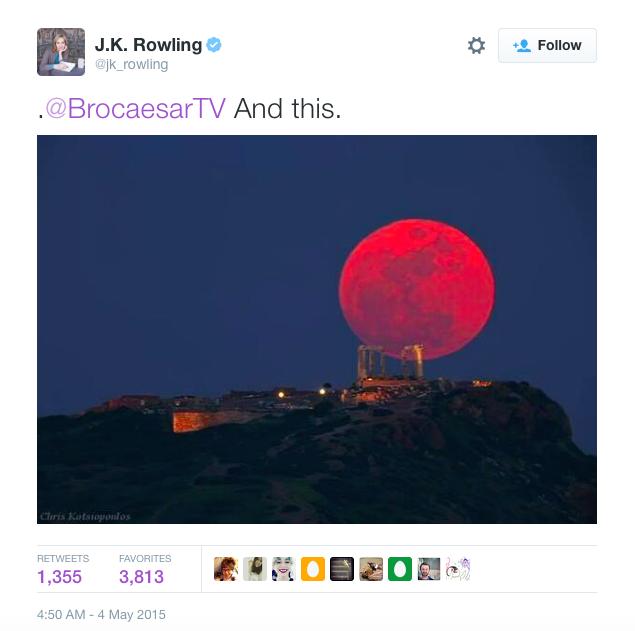 JK Rowling Tweet 02